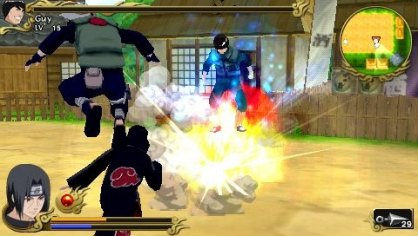 Naruto Shippuden Legends PSP
