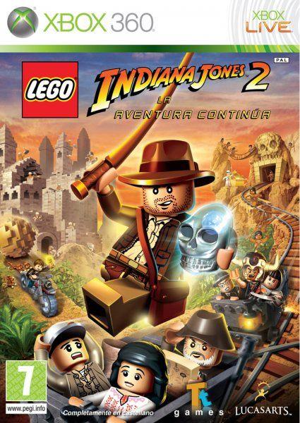 Lego Indiana Jones 2 Para Xbox 360 3djuegos