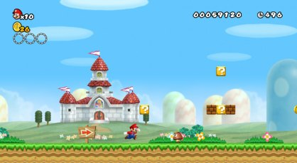 New Super Mario Bros an�lisis