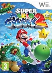 Carátula de Super Mario Galaxy 2 - Wii
