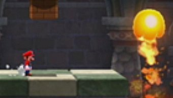 Super Mario Galaxy 2, Gameplay: La fortaleza de fuego