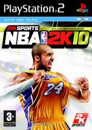 Carátula de NBA 2K10 - PS2