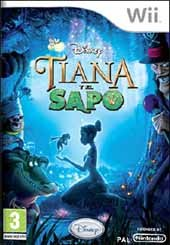 Carátula de Tiana y el Sapo - Wii