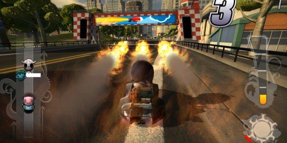 ModNation Racers Road Trip Vita