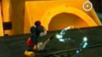 Video Epic Mickey, Gameplay: Tinta y disolvente
