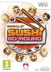 Carátula de Sushi Go Round - Wii