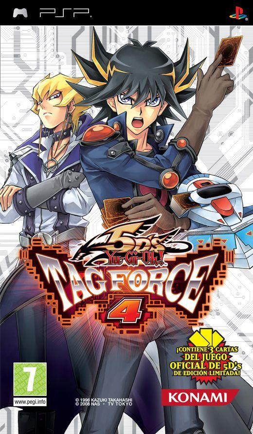 Carátula de Yu-Gi-Oh! 5D's Tag Force 4