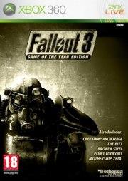 Carátula de Fallout 3: GOTY - Xbox 360
