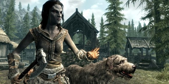 The Elder Scrolls V Skyrim: Impresiones GamesCom