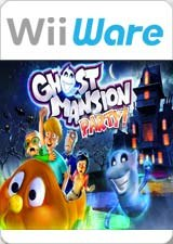 Carátula de Ghost Mansion Party - Wii