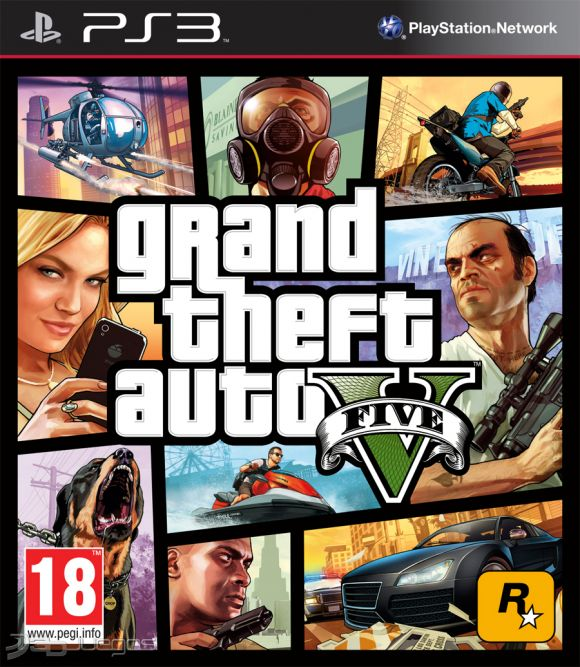 Grand Theft Auto V Para Ps3 3djuegos