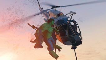 Ya puedes destruir helicópteros a 3km de altura en GTA 5