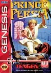 Carátula de Prince of Persia - Megadrive
