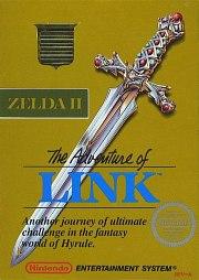 Carátula de Zelda II: The Adventure of Link - Wii U