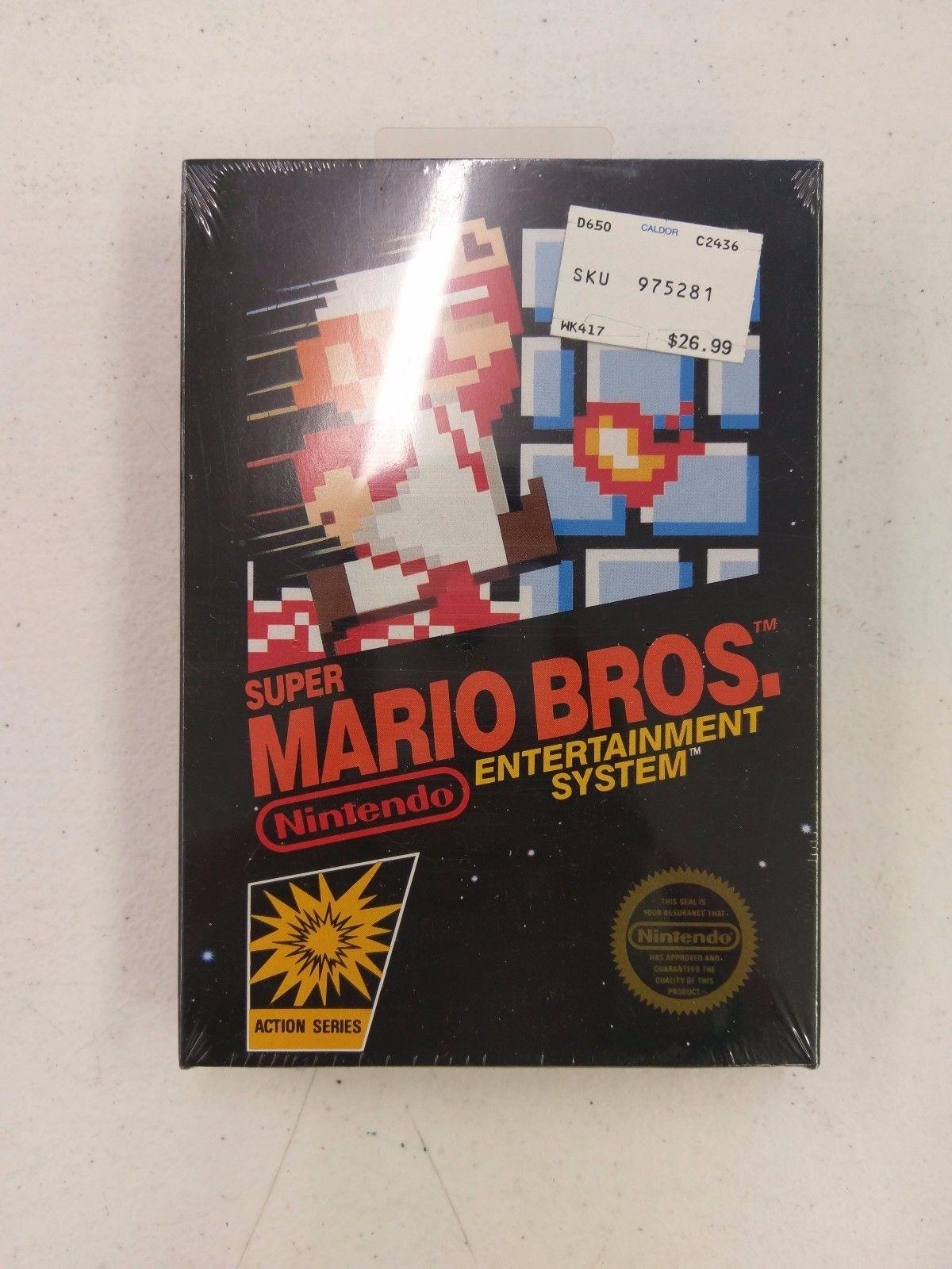 Vendida copia precintada de Super Mario Bros por más de 30.000 dólares
