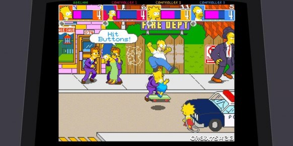 Los Simpsons Arcade an�lisis