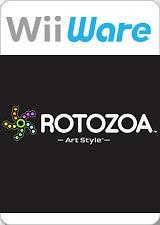 Carátula de Art Style: Rotozoa - Wii