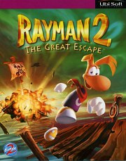 Carátula de Rayman 2: The Great Escape - PC
