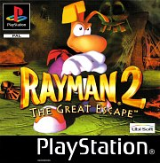 Carátula de Rayman 2: The Great Escape - PS1