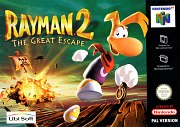 Carátula de Rayman 2: The Great Escape - N64