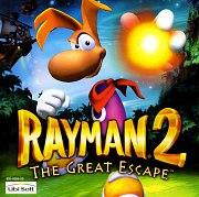 Carátula de Rayman 2: The Great Escape - DC