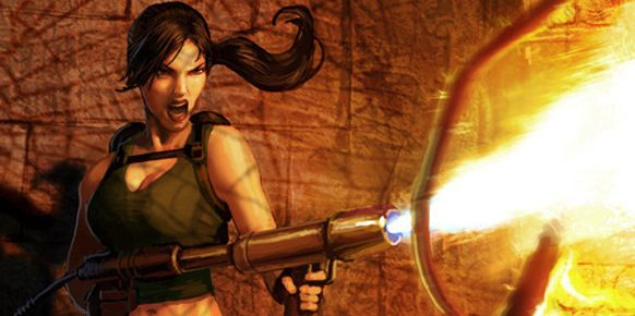 Artwork de Lara Croft and the Guardian of Light