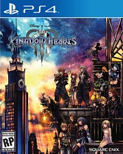 Carátula de Kingdom Hearts III - PS4