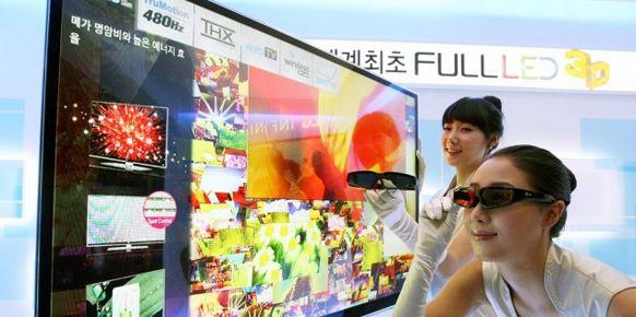 Los japoneses no quieren comprar televisores 3D que requieran gafas