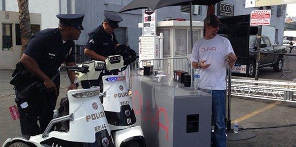 La policía intentó cerrar el stand de Ouya frente al E3