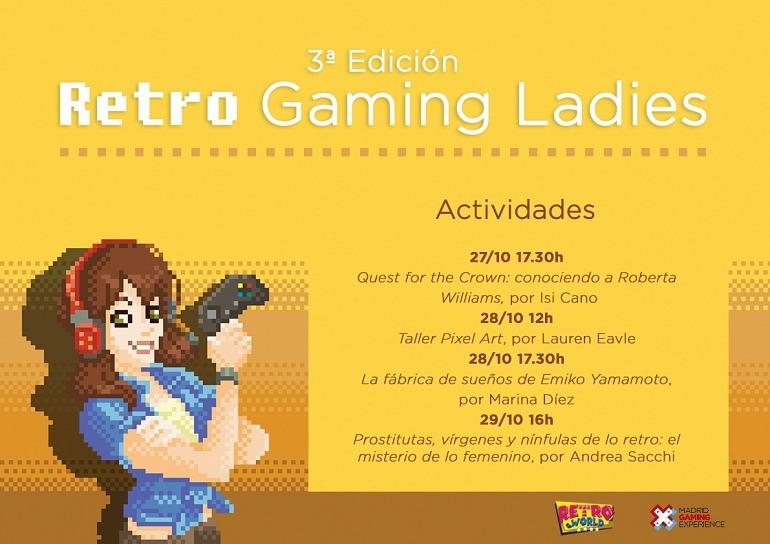 Gaming Ladies visita Madrid a finales de mes con su tercera edición