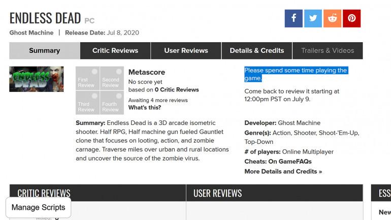 Metacritic mueve ficha y pondrá más difícil el review bombing: tocará esperar para hacer análisis