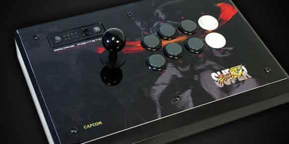Imagen de un Fightstick de Street Fighter IV