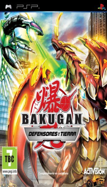 Carátula de Bakugan: Defensores