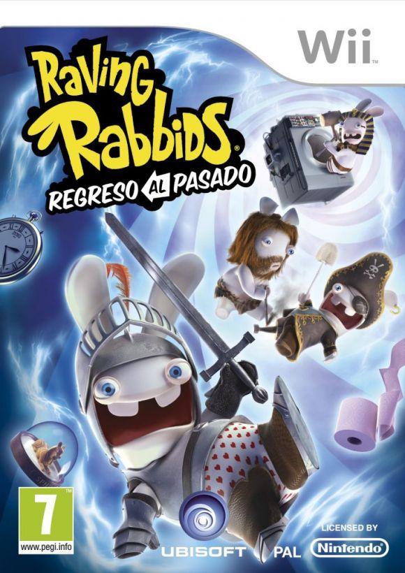Raving Rabbids Regreso Al Pasado Para Wii 3djuegos