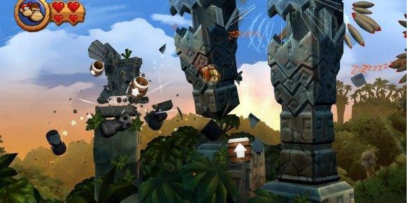 Donkey Kong Country Returns (Nintendo Wii)