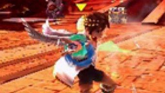 Video Kid Icarus Uprising, Gameplay: Protegiendo la Ciudad