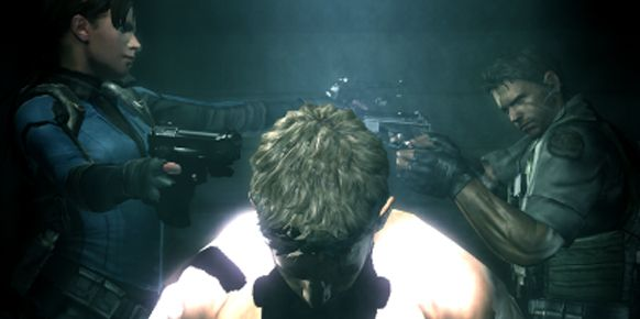 Imagen del trailer de Resident Evil: Revelations para 3DS