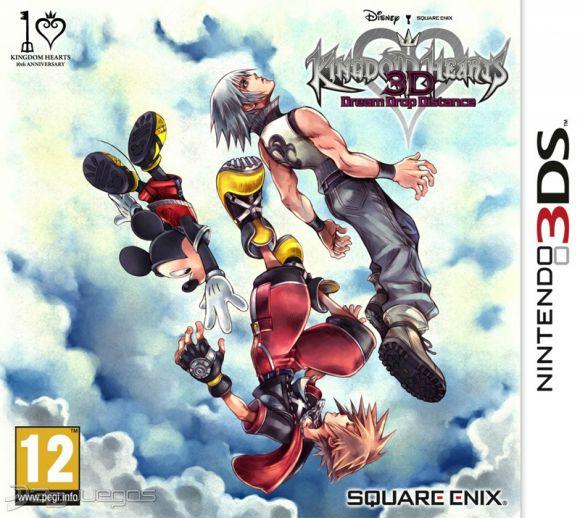 Kingdom Hearts 3D Dream Drop Distance CIA 3DS USA