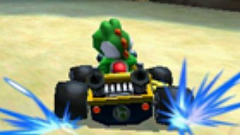 Video Mario Kart 7, Gameplay: Montaña Roqui-Roque