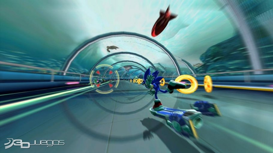 Sonic Free Riders - An�lisis