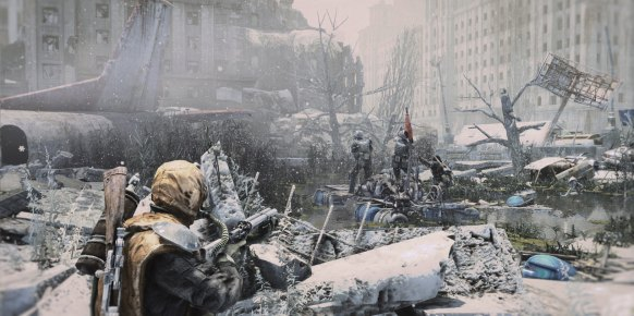 Metro Last Light: Impresiones jugables