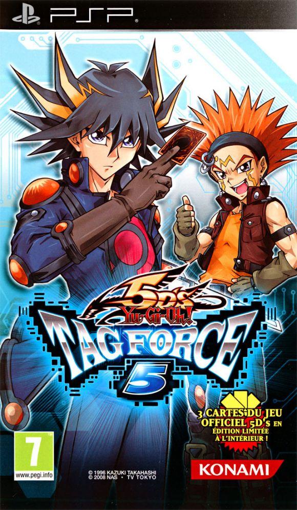 Carátula de Yu-Gi-Oh! 5D's Tag Force 5