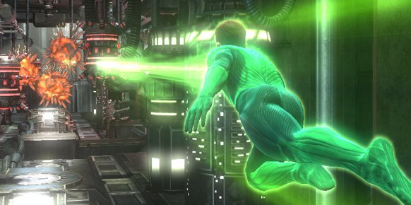 Linterna Verde PS3