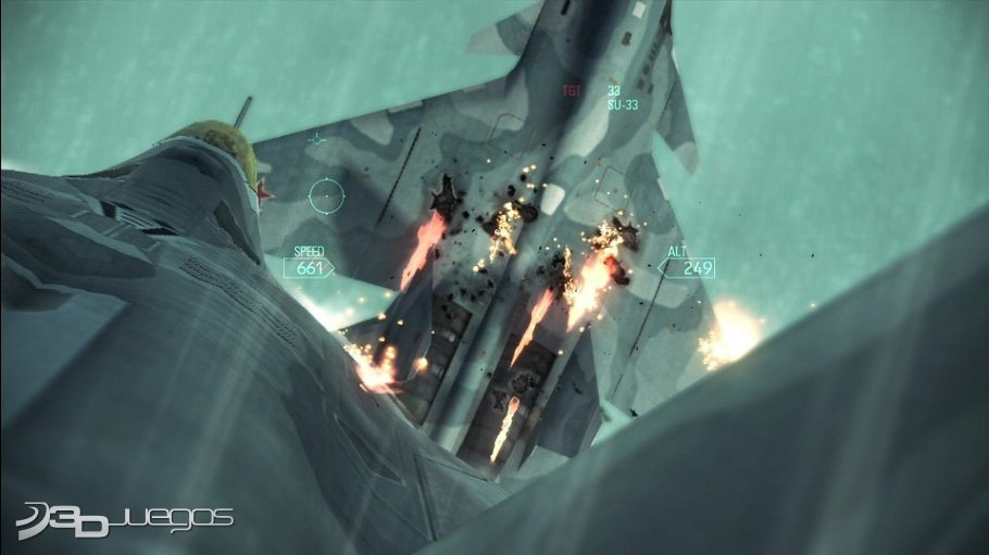 Ace Combat Assault Horizon - Primer contacto