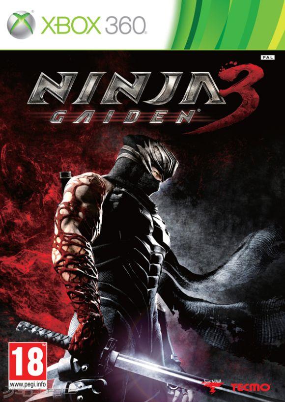 Car�tula de Ninja Gaiden 3