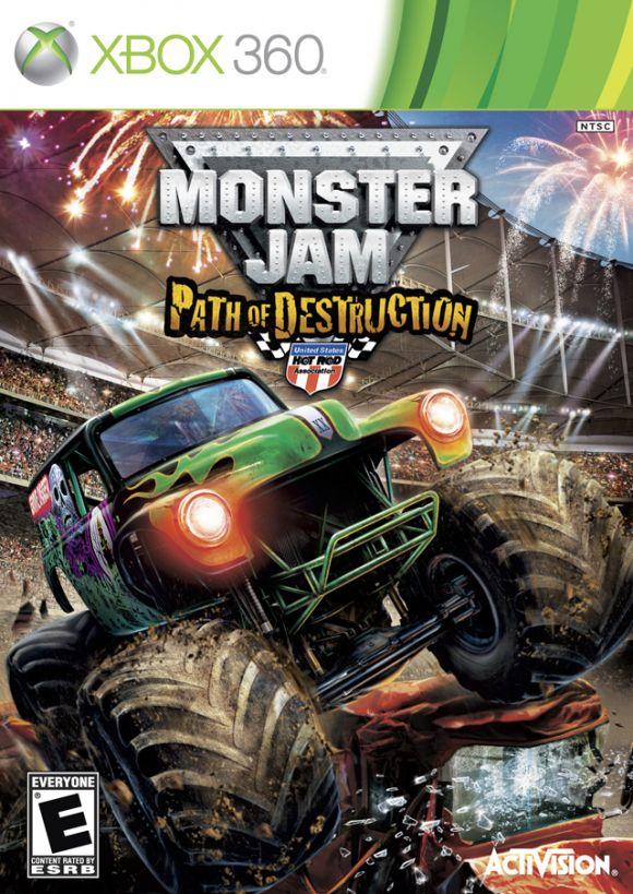Monster Jam Path Of Destruction Para Xbox 360 3djuegos