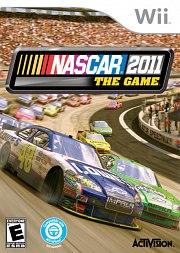 Carátula de Nascar The Game 2011 - Wii