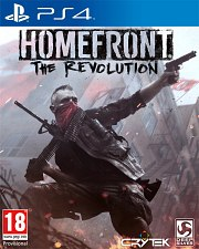 Carátula de Homefront: The Revolution - PS4