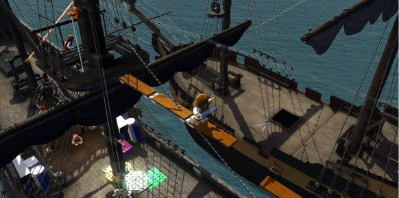 LEGO Piratas del Caribe: Primer contacto