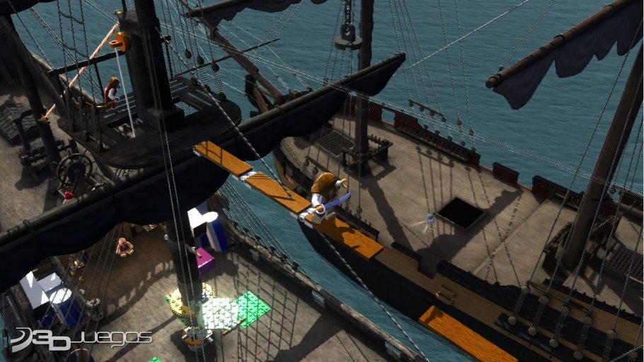 LEGO Piratas del Caribe - Primer contacto